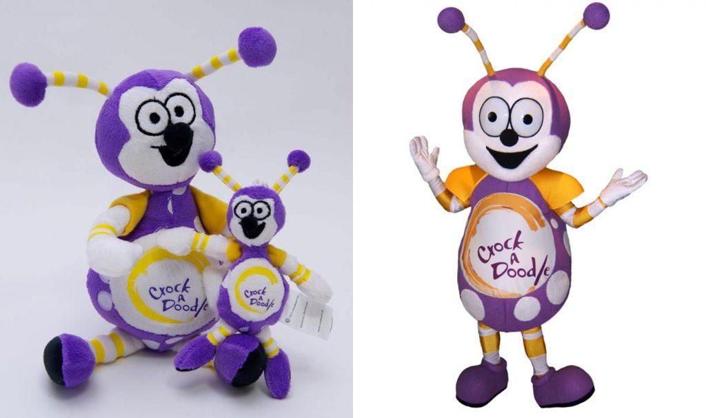 image of mascot plush toy