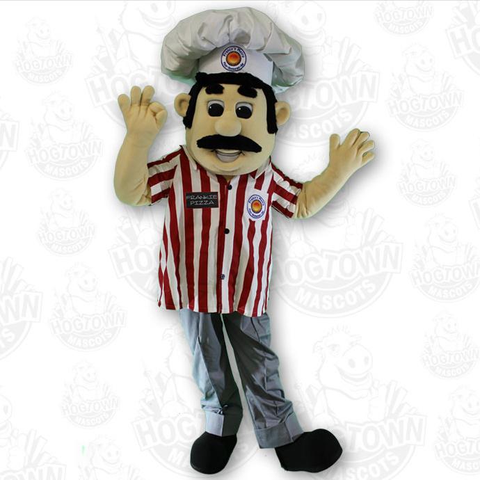 Franco's Metro pizza brand mascot costume