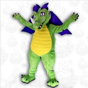 Blaze dragon mascot costume