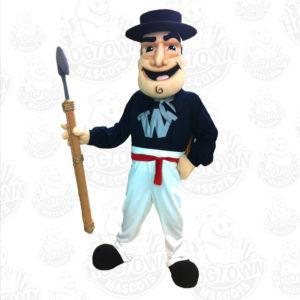 Nantucket whaler mascot costume