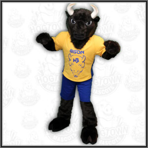 New Buffalo Schools Bison mascot costume