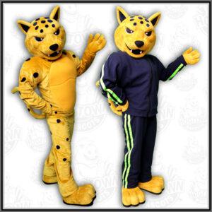 UNT Dallas jaguar mascot