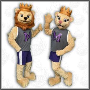 Manzano High School Lion Mascot Costumes